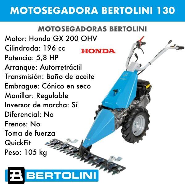 Motosegadora Bertolini 130 motor honda