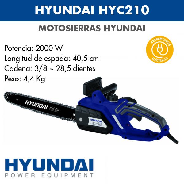 Motosierra Hyundai HYC210