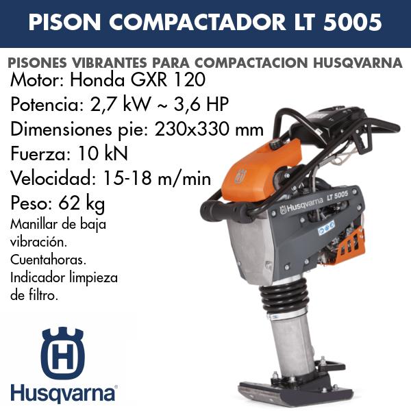 Pison compactador LT 5005