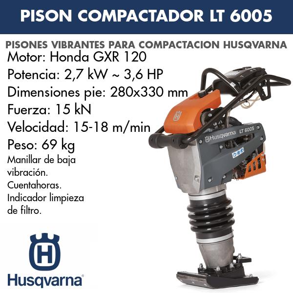 Pison compactador LT 6005