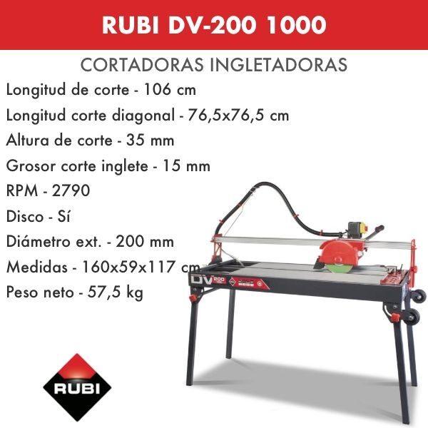 RUBI DV-200 1000