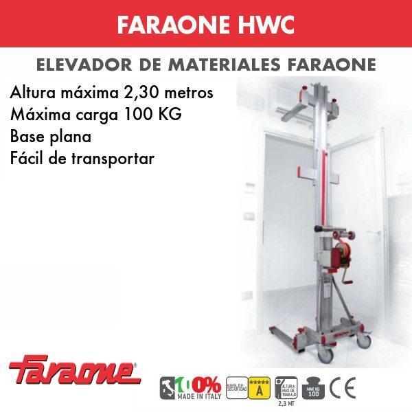 Elevador de materiales Faraone HWC