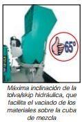 Mörtelboden mit Druckluftpumpe Move 270 DB und Move 270 DBR EVO