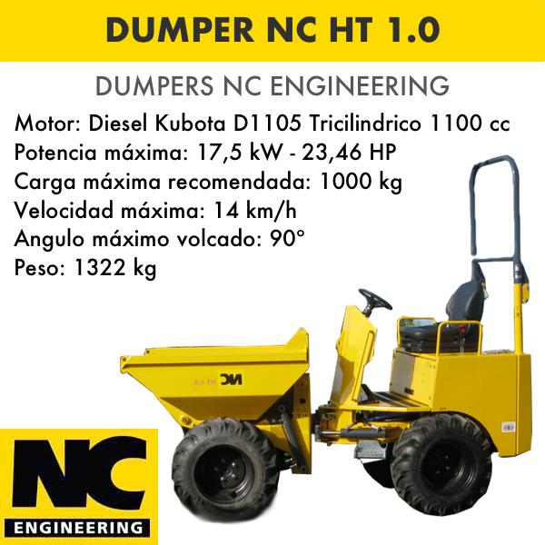 Dumper NC ENGINEERING HT 1.0