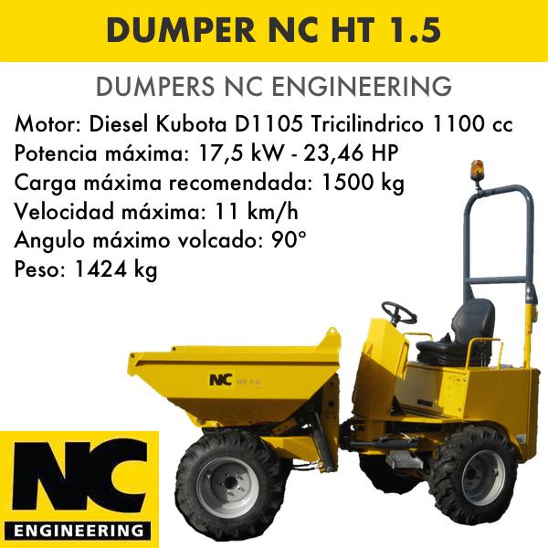 Dumper NC ENGINEERING HT 1.5