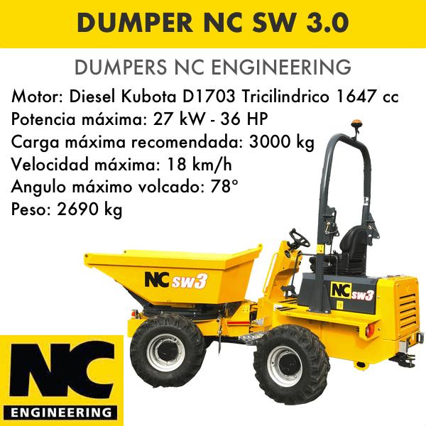 Dumper NC ENGINEERING SW 3.0