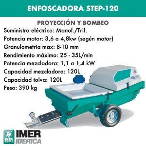 ENFOSCADORA MODELO STEP-120
