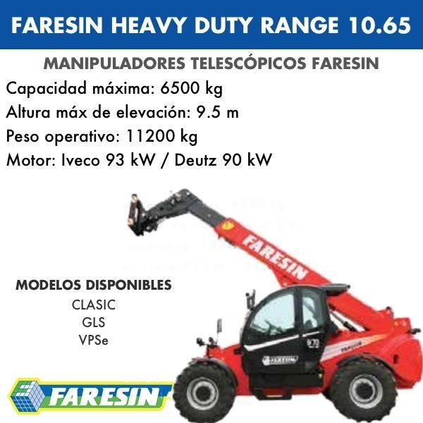 FARESIN HEAVY DUTY RANGE 10.65