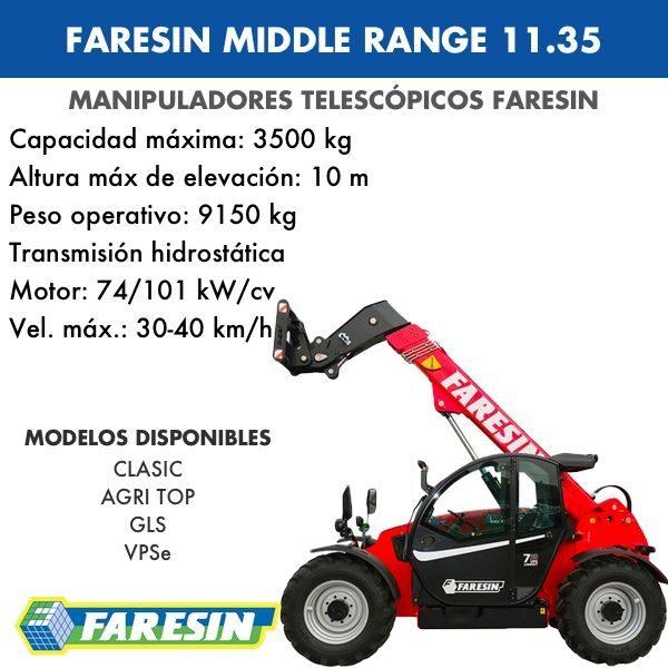FARESIN MIDDLE RANGE 11.35