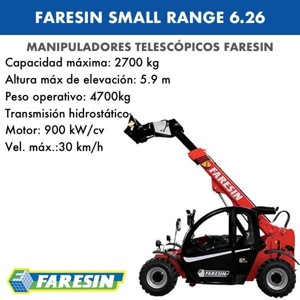 FARESIN SMALL RANGE 6.26