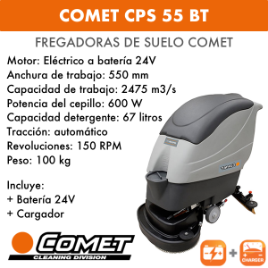 Fregadoras Comet CPS 55 BT