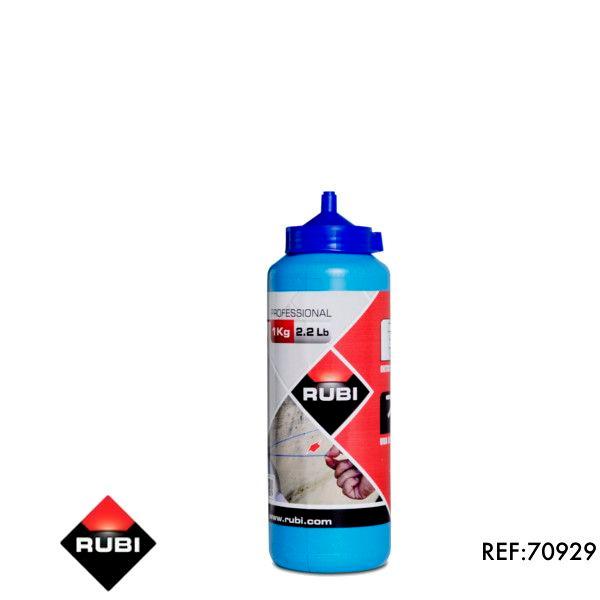 Blue powder for line marker 1KG Rubi