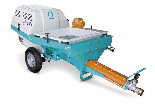 Pumpe für Spritzbeton und Fließmörtel STEP-120 A