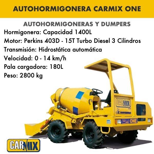 autohormigonera carmix one