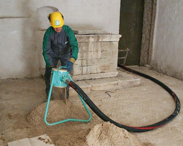 Druckluftpumpe für Bodenmörtel Move 270-EB Dreiphasig