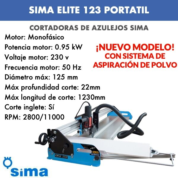 sima elite 123 portatil
