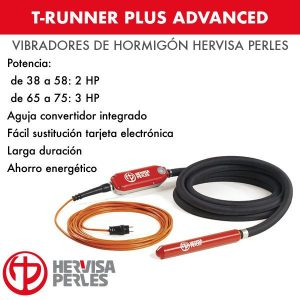 Vibrador hormigón T-Runner Plus Advanced