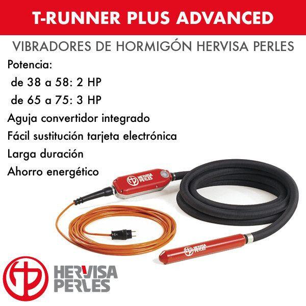 Vibrador hormigón T-Runner Plus Advanced