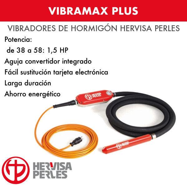 Vibrador hormigón Hervisa Perles Vibramax Plus