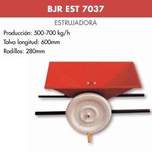 Estrujadora de uva manual lacada BJR EST 7037