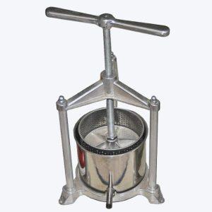 Prensa de vino manual de acero inoxidable 11065SF