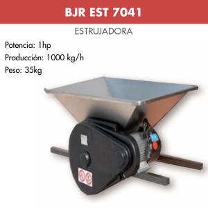 Estrujadora de uva motor inox BJR EST 7041