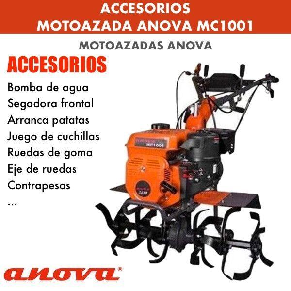 Accesorios para Motoazada Anova MC 1001