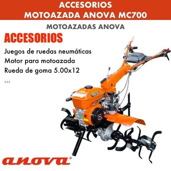 Accesorios para Motoazada Anova MC700