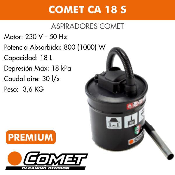 Aspirador Comet CA 18 S