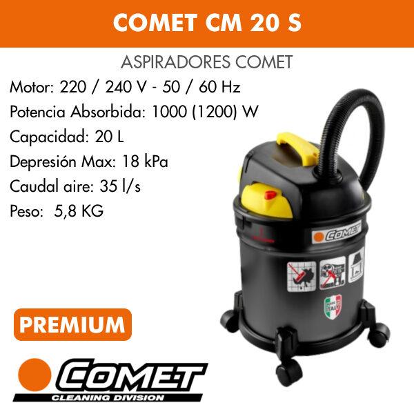 Aspirador Comet CM 20 S