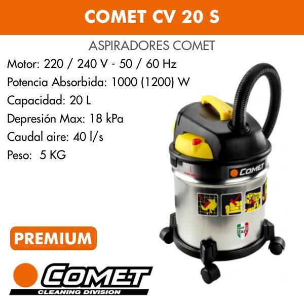 Aspirador Comet CV 20 S