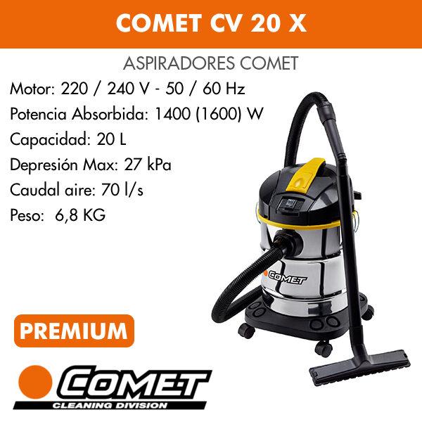 Aspirador Comet CV 20 X