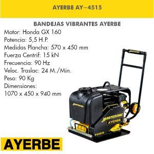 Bandeja vibrante AYERBE AY-4515