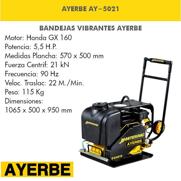 Bandeja vibrante AYERBE AY-5021