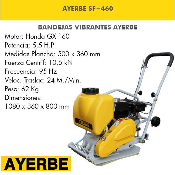 Bandeja vibrante AYERBE SF-460