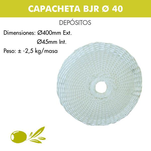 CAPACHETA BJR Ø 40