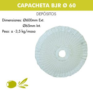 Capacheta BJR Ø60