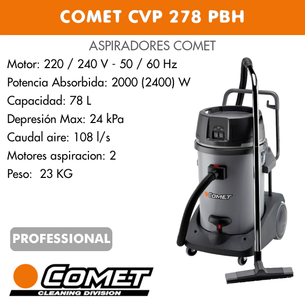 COMET CVP 278 PBH