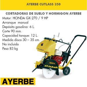 Cortadora Ayerbe CUTLASS 350