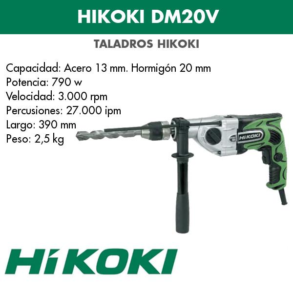 HiKOKI DM20V Taladro
