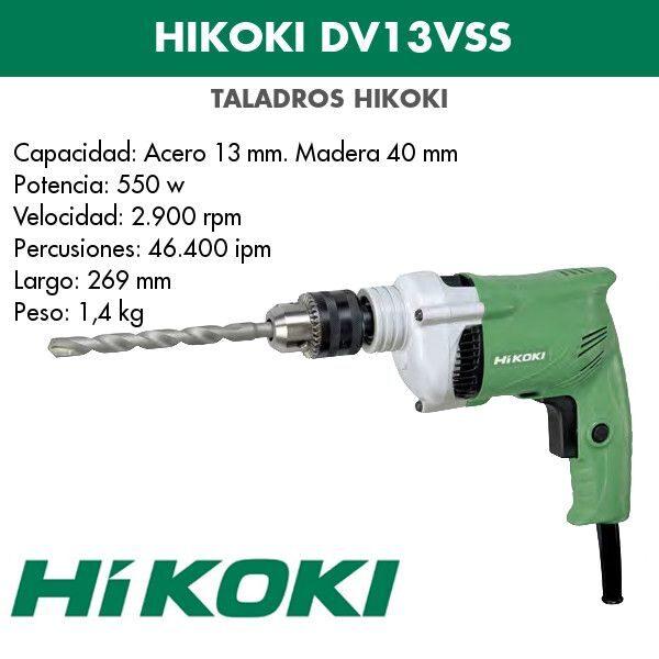 Bohrmaschine Hikoki DV13VSS 550w
