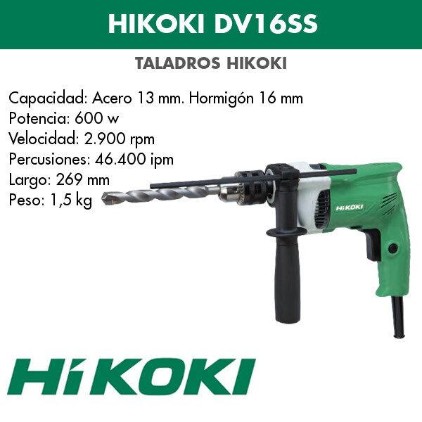 Bohrmaschine Hikoki DV16SS 600w