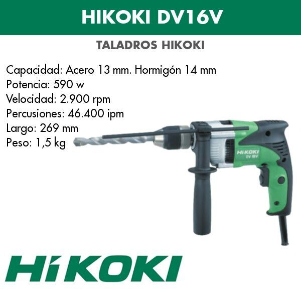 Bohrmaschine Hikoki DV16V 590w