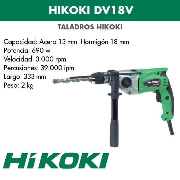 Bohrmaschine Hikoki DV18V 690w