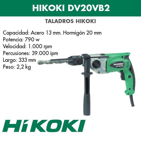 Bohrmaschine Hikoki DV20VB2 790w