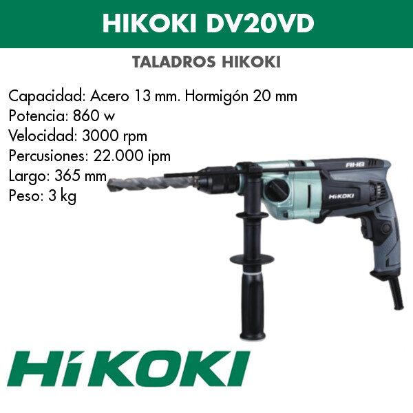 Bohrmaschine Hikoki DV20VD 860w