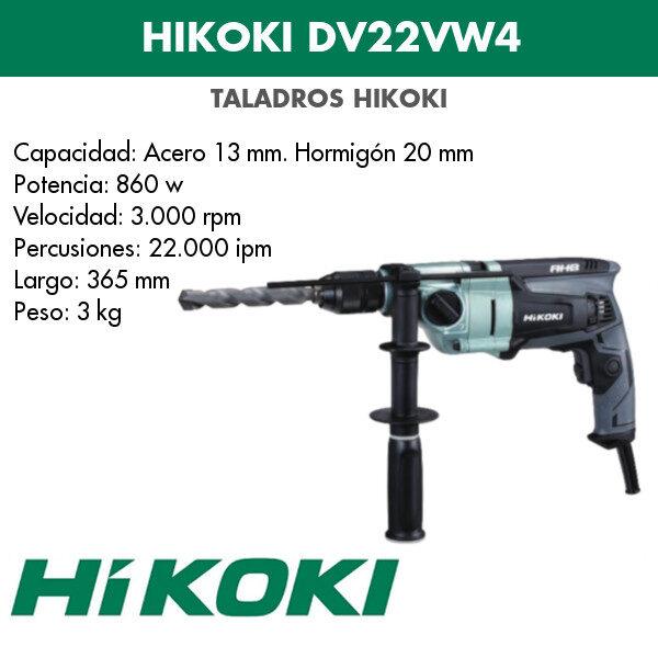 Bohrmaschine Hikoki DV22VW4 860w