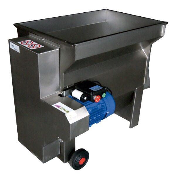 Einphasiger elektrischer Traubenbrecher-Abbeer DPE 2000 I / B