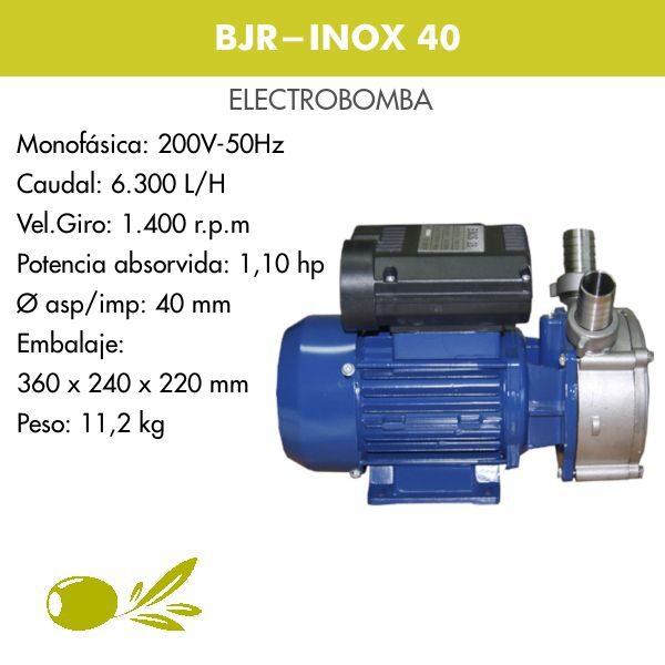 ELECTROBOMBA INOX 40