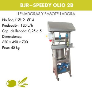 EMBOTELLADORA SPEEDY OLIO 2B